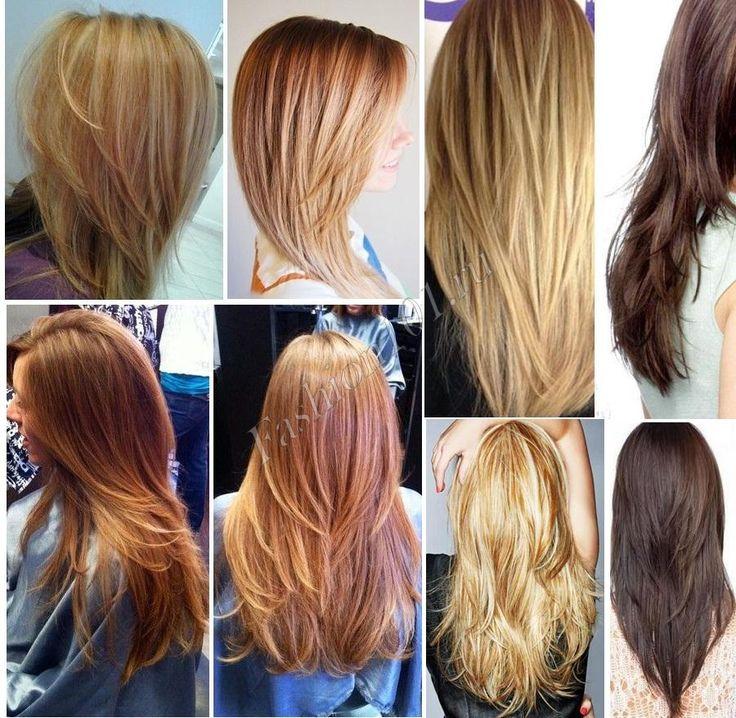 23 best haircut long hair layers каскад на длинные волосы ...