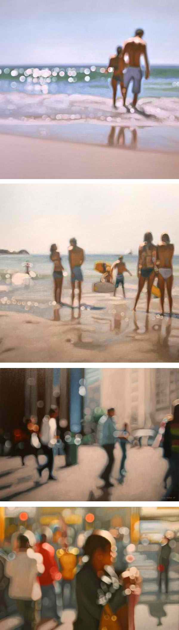 Paintings by Philip Barlow