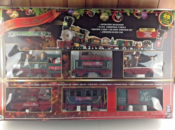 eztec north pole express train set instructions