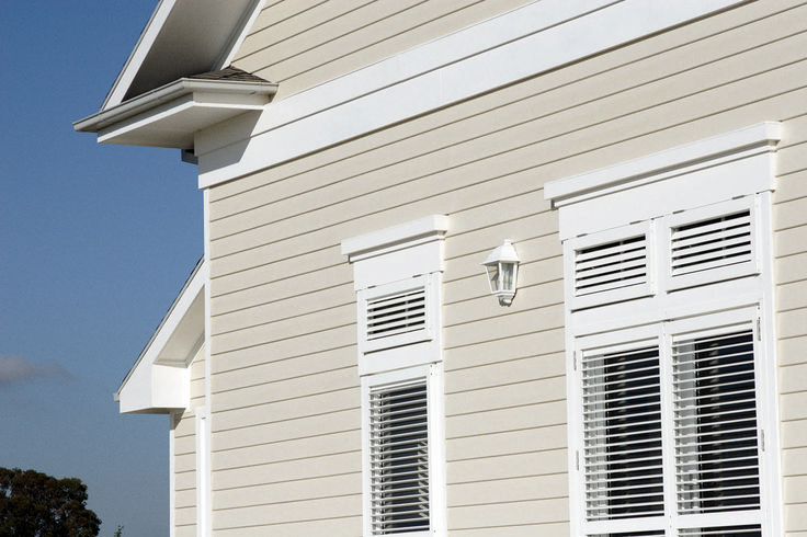 PrimeLine® weatherboard | James Hardie (not sure which profile though...)