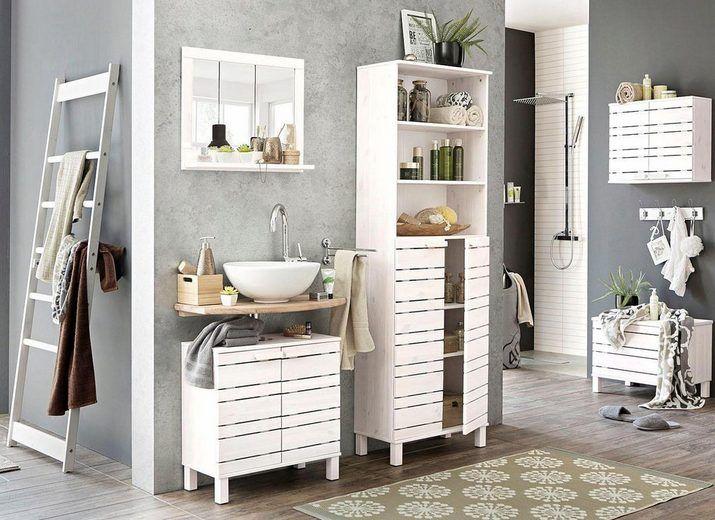Home Affaire Waschbeckenunterschrank Jossy Aus Massivholz Breite 60 Cm Online Kaufen Otto Waschbeckenunterschrank Schrank Unterschrank