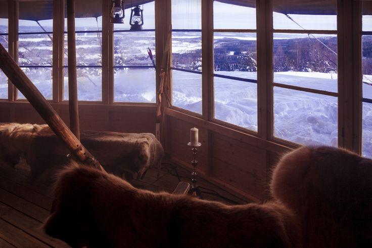 Vildmarkskonferensen på toppen - Ski Sunne - photo by jeppeblomgren.se