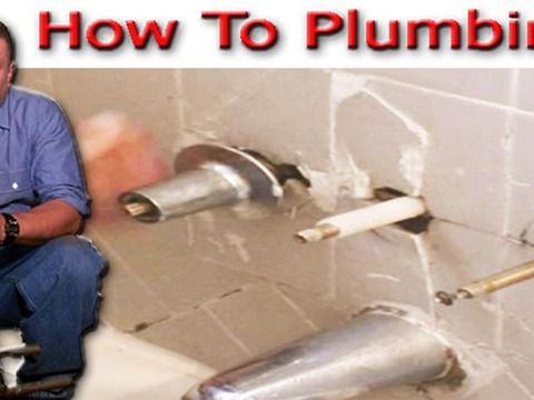 In This Video We Start By Removing The Old Two Handle Tub And Shower Valve  From