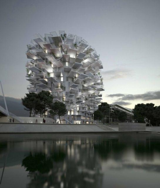 L'incroyable immeuble pomme de pin, c'est pour bientôt à Montpellier