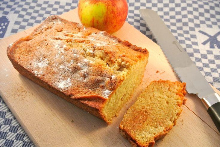 Appel-kaneel cake - Lekker en Simpel