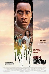 Hotel rowanda- Don Cheadle is spectacular in this true story. His acting is limitless.