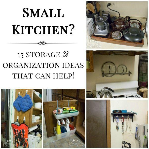 15 Small Kitchen Storage Organization Ideas