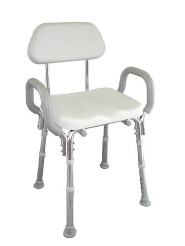 Padded Shower Chair with Arms and Back  AccessibleBathroomAids   See more  information about how92 best Showers for the Disabled images on Pinterest   Bathtubs  . Folding Chairs For The Shower. Home Design Ideas