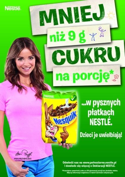 Nasza Ania w reklamie płatków Nestle    #ania #przybylska #nestle #limango
