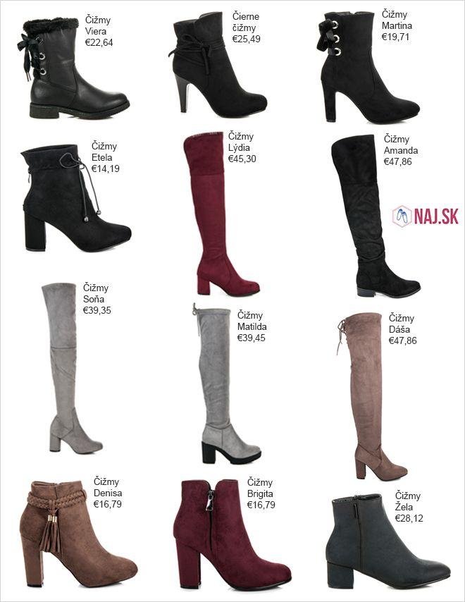 aeb0f6121 Čižmy | Čižmy - NAJ.SK | Shoes, Boots a Ankle