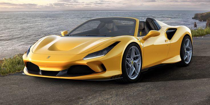 The 2020 Ferrari F8 Spider Is 710 HP of TwinTurbo V8