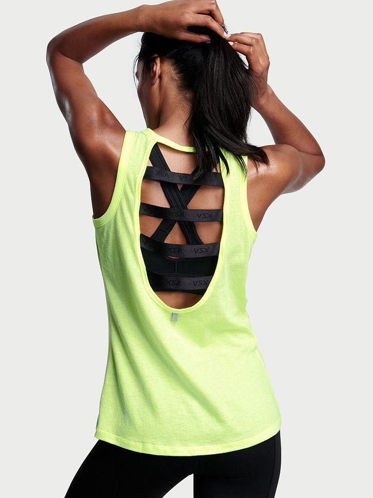 Elastic Strappy-back Tank - Victoria's Secret Sport - Victoria's Secret