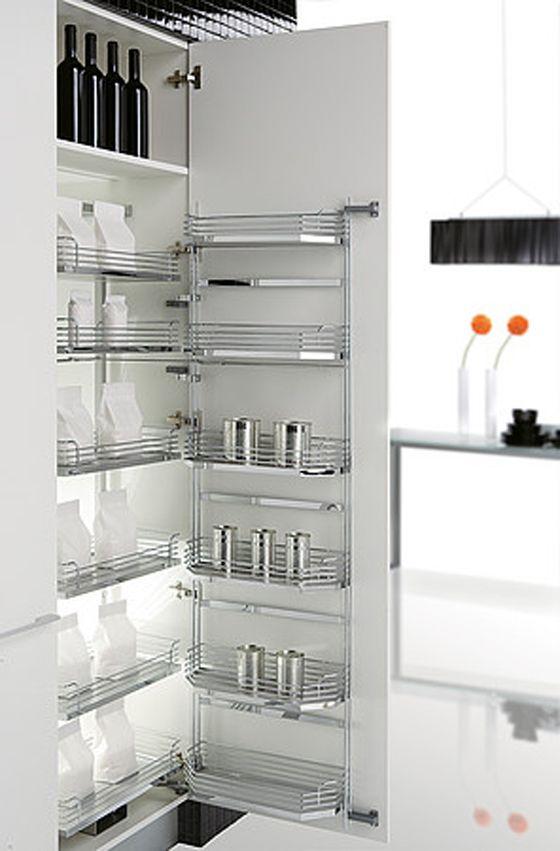 25 best modern home organization images on pinterest for Minimalist pantry design