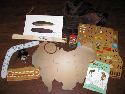 Montessori Tidbits: In the Continent box -- Australia