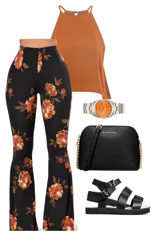 """""""Untitled #618"""" by tdgaaf ❤ liked on Polyvore featuring Michael Kors and Glamorous"""