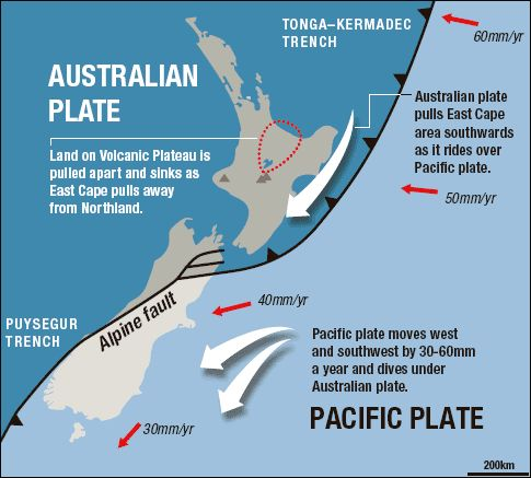 New Zealand new earthquake fault 'similar to Alpine' fault | The Extinction Protocol: 2012 and beyond