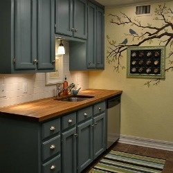 Find Kitchen Paint Color Based On Cabinets And Countertops