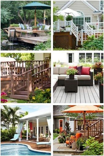 Create the perfect new deck for your home with the help of the free, online Design-A-Deck program from Better Homes & Gardens Magazine at BHG.com