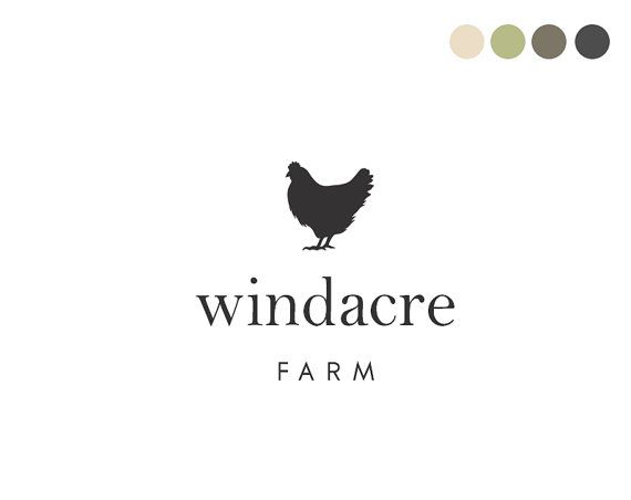 Farm Logo Design by Maggie Molloy for Crooked Little Pixel