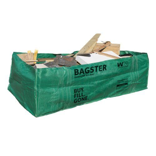 bagster 3cuyd dumpster in a bag packagequantity 1 outdoor home garden supply