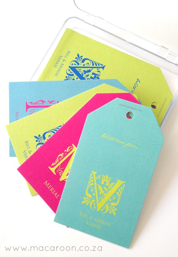 Gift your hostess her own set of fabulous personalised Gift Tags. Macaroon's bright coloured Mardi Gras Monogram are a popular choice!  http://www.macaroon.co/macaroon/content/en/macaroon/personalised-gift-tags?oid=69985&sn=Detail&pid=3887&Mardi-Gras-Monogram-Personalised-Gift-Tags