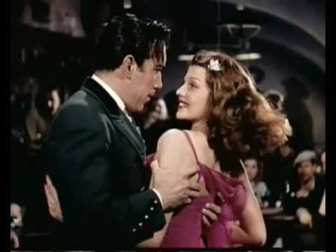 """Rita Hayworth Sway Dancing--from the movie, """"Blood and Sand"""", 1941. Song """"Sway"""" by Rosemary Clooney, 1959"""