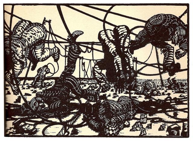 In the world of war    ORFEUS OG EURYDIKE (1959)  Palle Nielsen
