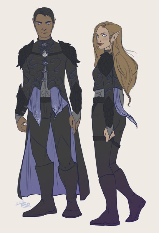 Rysand and Feyre