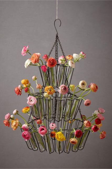 flowery chandelier  so beautiful!