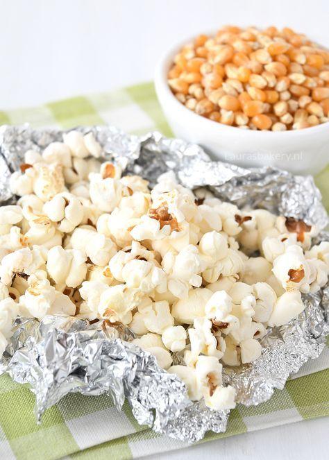 Bbq Popcorn Is Ontzettend Eenvoudig Om Te Maken En Hartstikke Leuk Om De Barbecue Mee Af