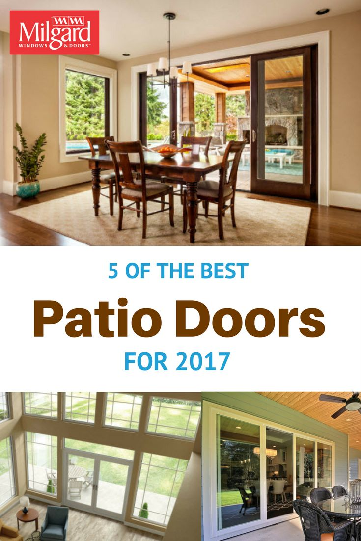 With So Many Options, Itu0027s Hard To Decide The Right Patio Door For The Year
