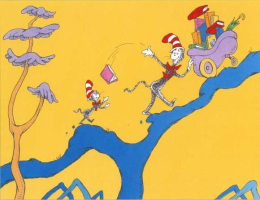 Dr. Seuss- he was a genius & I cant wait to read him to my kids someday