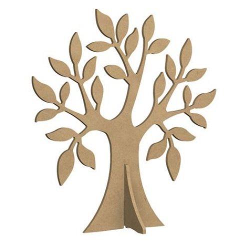 Support médium - arbre pied - 38 cm