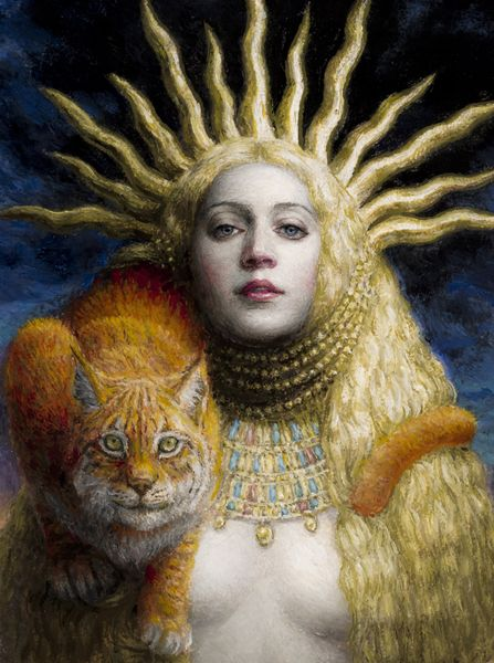 "Hemera by Chie Yoshii. In Greek mythology Hemera (Ἡμέρα- ""day"") was the goddess…"