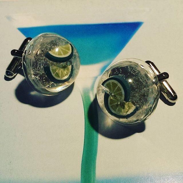 Gin or Vodka & Tonic Cufflinks