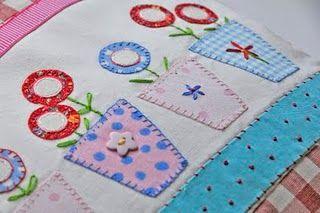 pano de prato: Helen Phillp, Apply, Patchwork Quilts, Patches Apliqu, Apliquê, Couture Appliques, Pretty Patches, Helen Phillip, Helen Philippe