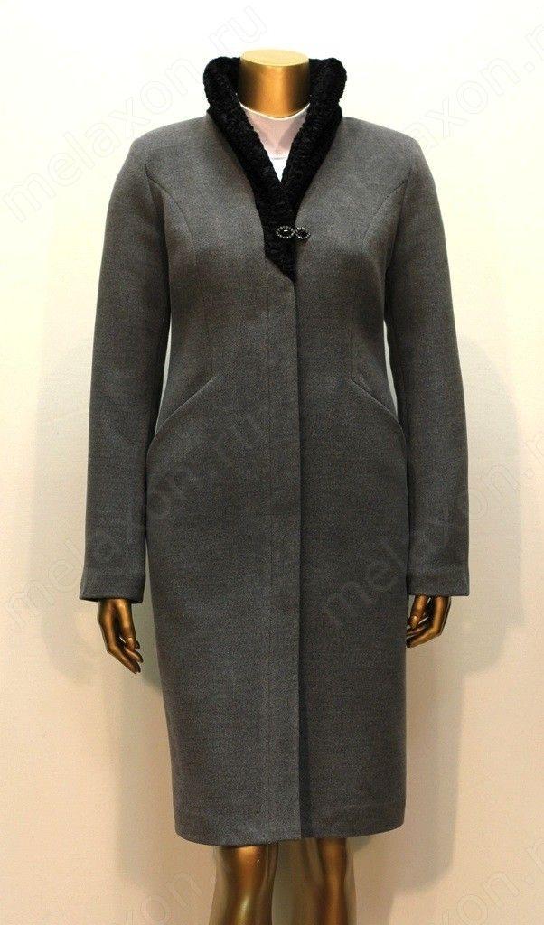 """Женское зимнее пальто """"Африка"""" - каракуль"""