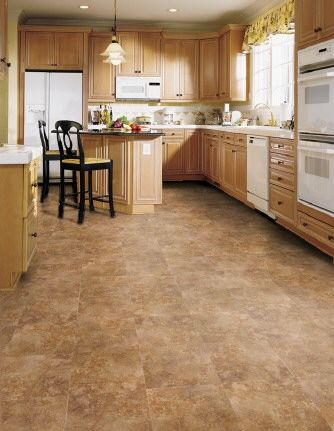 Vinyl Tile Flooring   Studio Kitchen And Bathroom!