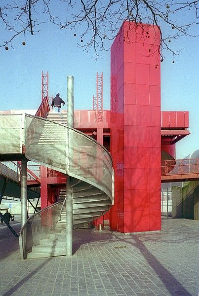 17 best images about bernard tschumi parc de la villette on pinterest rem koolhaas classic - Parking porte de la villette ...