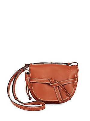 13ce81ca3237 LOEWE Small Gate Leather Crossbody Bag