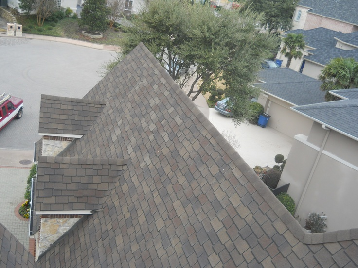 GAF Woodland Composition Shingle, Color Tuscan Sunset. Installed By Bert  Roofing Inc Of Dallas