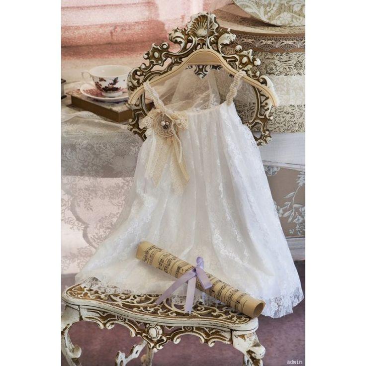 Ολοκληρωμένο πακέτο βάπτισηs με αυτό το Φόρεμα (Αλέξανδρος Κωδ.4927-6)