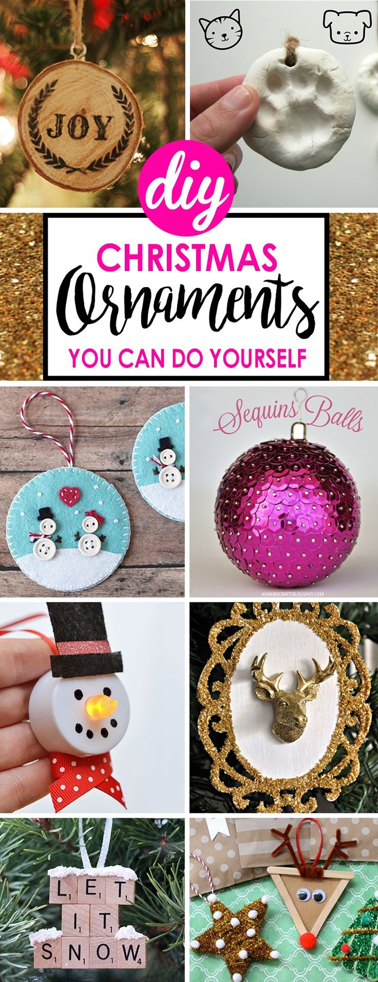 Very few events throughout the year compare to the joy and excitement of the approaching Christmas season. And whether you fancy yourself a seasoned crafter or you're more of an artistic novice who just wants to create some beautiful Christmas decor, there's always a good reason to start a DIY C...