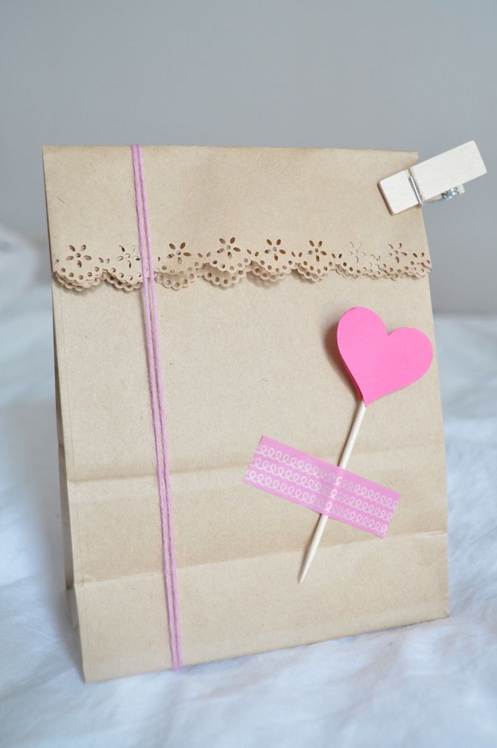 packaging, gift wrap, heart punch