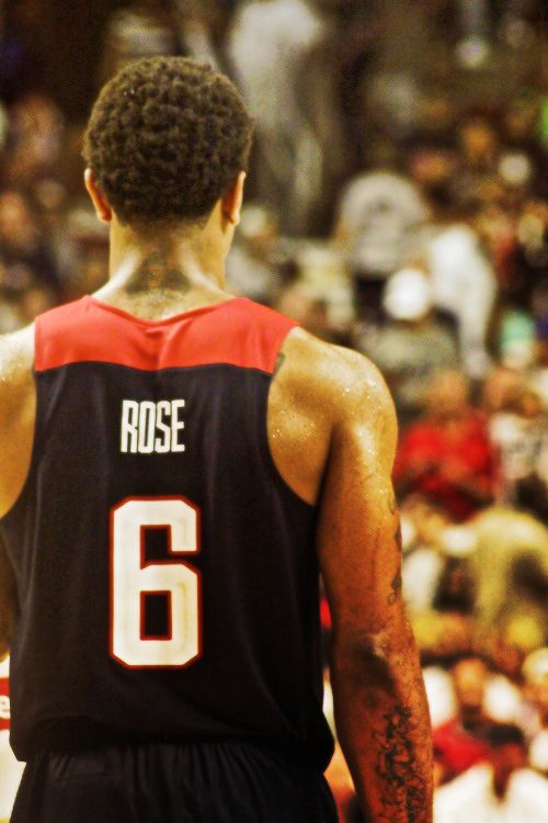 Derrick Rose, USA Team