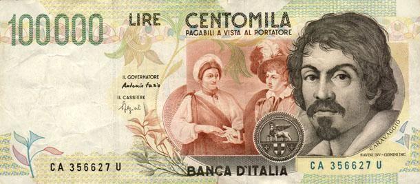 <p>100mila lire. Le prime banconote furono emesse tra il 1967 e il 1979 ed erano dedicate a Alessandro Manzoni. A quell'epoca 100mila lire era lo stipendio medio di un operaio. Le prime banconote, quindi, potrebbero avere molto valore. </p>