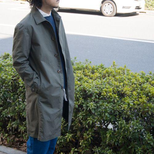 長丈アウターの代表的なデザインの1つでもあるステンカラーコートを馬布を用いて仕立てた1着。 [AUD2680] http://www.aud-inc.com/product/2359 シンプルなディテールにこそ映える、馬布の高密度でハリのある素材感にマットなカラー。 春物らしい軽やかな着心地に、合わせる物を選ばない汎用性の高さも魅力の春コートが入荷致しております!!  *Coordinate Item* Inner-Shirt [AUD1743] http://www.aud-inc.com/product/2307 Inner-Cut sew [AUD1738] http://www.aud-inc.com/product/2326 Bottoms [AUD3332 http://www.aud-inc.com/product/2244