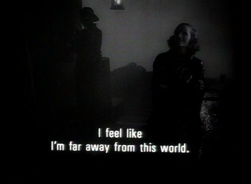..i feel like i'm far away from this world..