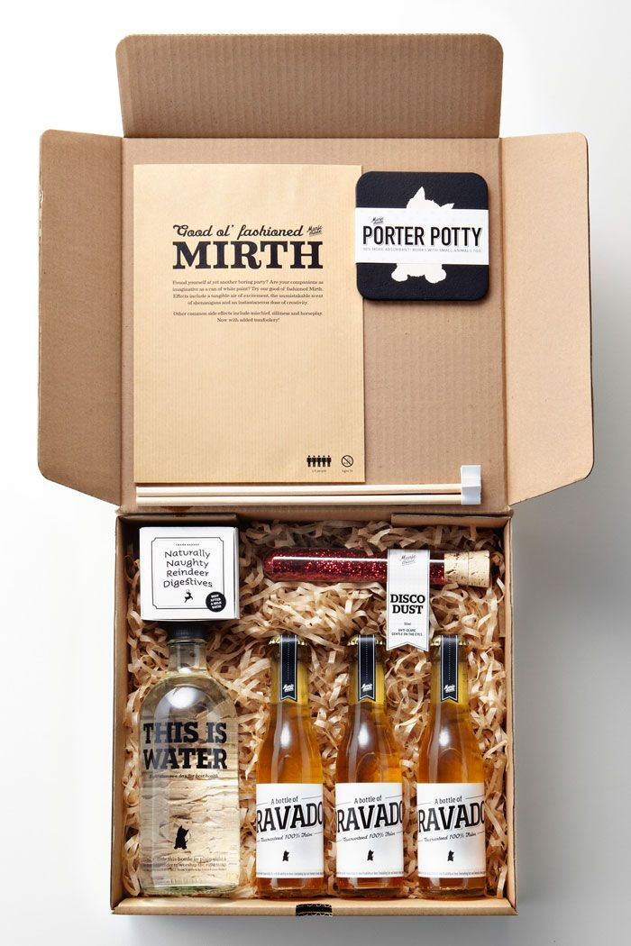 party in a box #design #packaging