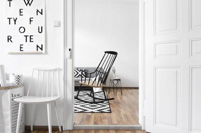 Une décoration noire et blanche #pourchezmoi